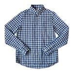 maillot sunset big gingham B.D. shirts / round work shirts