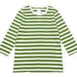 maillot ライトボーダー7分袖Tシャツ / 長袖Tシャツ