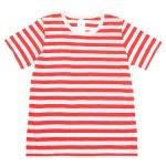 maillot ライトボーダー半袖Tシャツ / 半袖B.D.シャツ