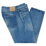 ordinary fits DENIM CROPPED PANTS BLUE