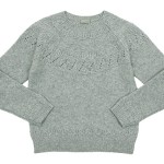 MARGARET HOWELL TEXTUERD MERINO JUMPER KNIT