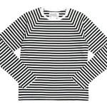 Charpentier de Vaisseau Middle Stripe Long Sleeve Tee / V Neck Cardigan