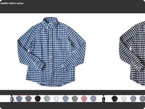 maillotのシャツ