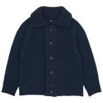 maillot mature hand frame fisherman jacket / wool labo coat / washable serge easy trouser