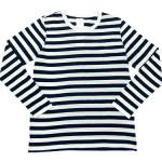 maillot ライトボーダー長袖Tシャツ / ボーダー長袖Tシャツ