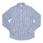 maillot sunset stripe B.D. shirts / round work shirts