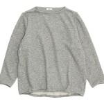 maillot wool sweat trainer / winter linen stand long shirts / linen wool pull vest