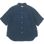 MARGARET HOWELL FINE LINEN S/S SHIRTS / NO COLLAR SHIRTS 〔レディース〕