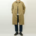 maillot mature cotton over coat / drawstring tuck pants
