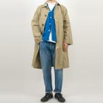ordinary fits MAVIS Oversized Coat / 5POKET ANKLE DENIM USED WASH
