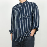 TATAMIZE P/O STAND COLLAR SHIRTS