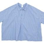 TOUJOURS Short Sleeve Shirts / Drawstring Suspender Skirt