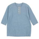 TOUJOURS Big Henley Neck Shirt / Shopping Bag / Pochette