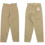 《再入荷》 YAECA CHINO CLOTH PANTS WIDE TAPERED / DENIM PANTS WIDE TAPERED