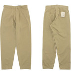 YAECA CHINO CLOTH PANTS WIDE TAPERED