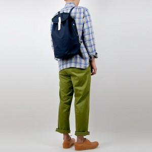 StitchandSew Backpack NAVYを使ったファッションコーディネート・着こなし