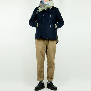 maillot b.label melton PEA jacket NAVY