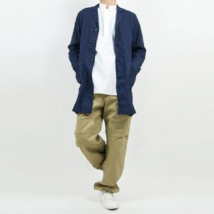 TUKI double knee pants 03KHAKI