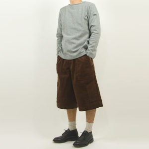 maillot mature wool weekend Tee LIGHT GRAY