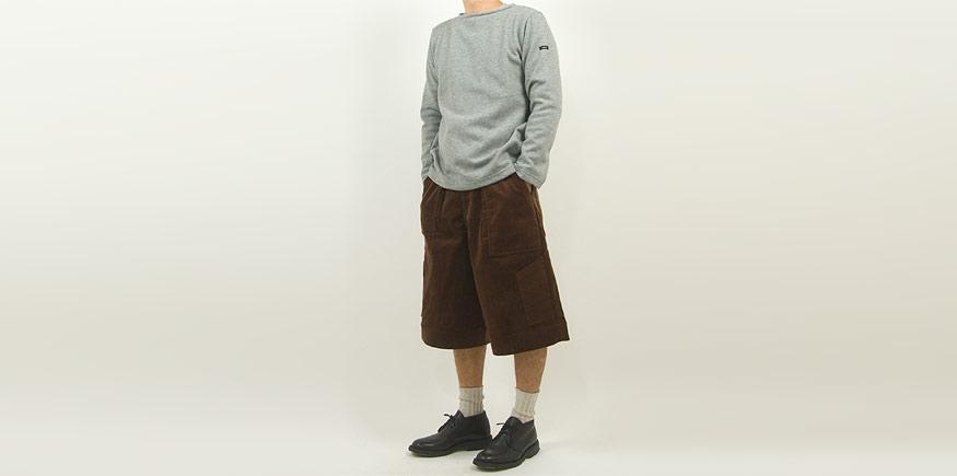 maillot mature wool weekend Tee LIGHT GRAY