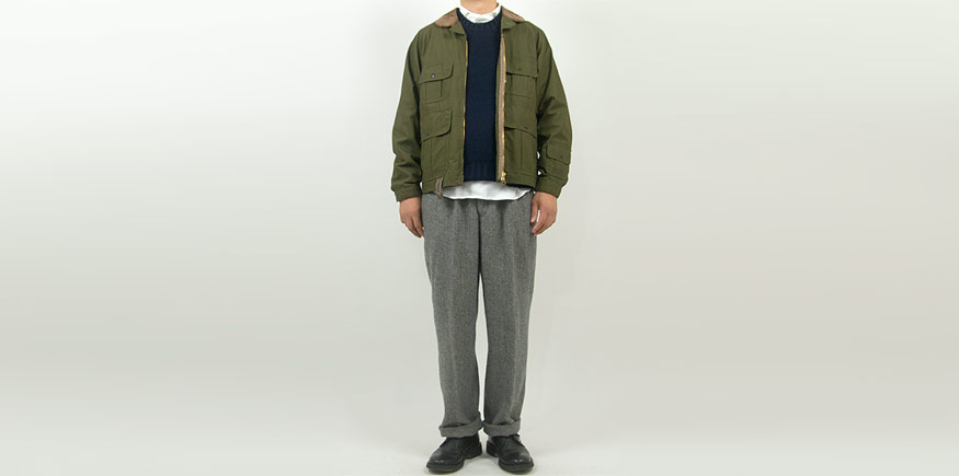 ENDS and MEANS 2Tacs Grandpa Trousers GRAY