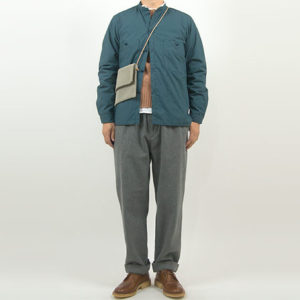 ENDS and MEANS Puff Shirts Jacket SMOKEY BLUE
