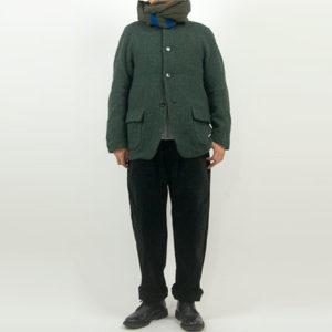 nisica ウールジャケット GREEN 【NIS-844】