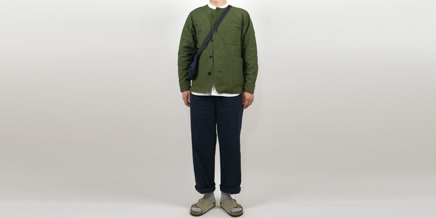 maillot military n/c utility jacket OLIVE