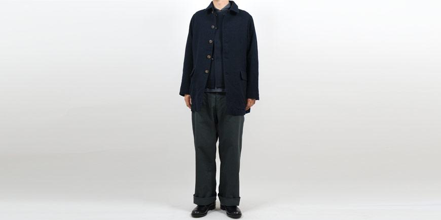 TUKI field trousers 34STEEL BLUE