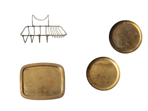 真鍮のアイテム
