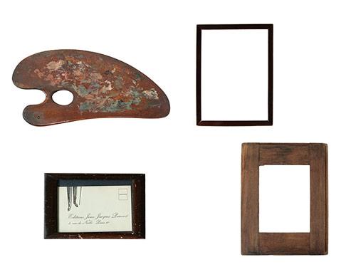 絵にまつわる古道具