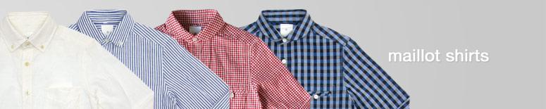 maillot(マイヨ)のシャツを形とサイズから探す