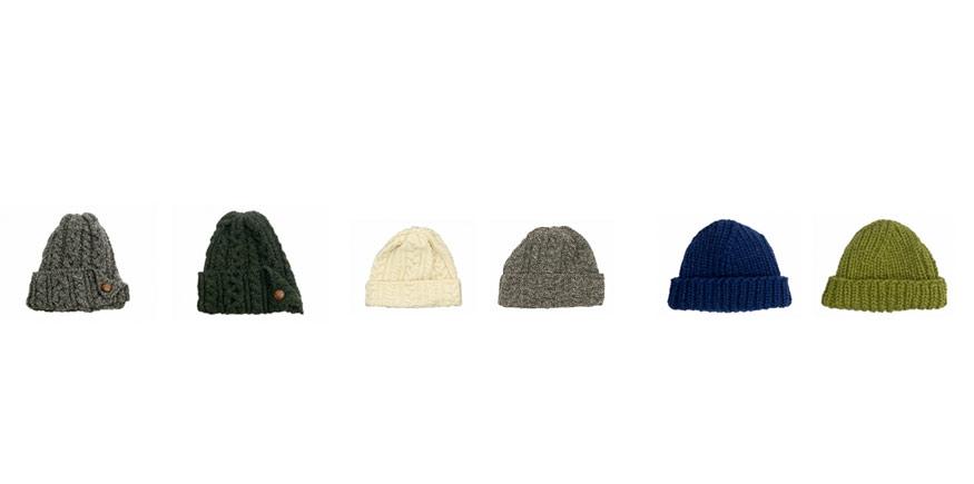 冬のニット帽