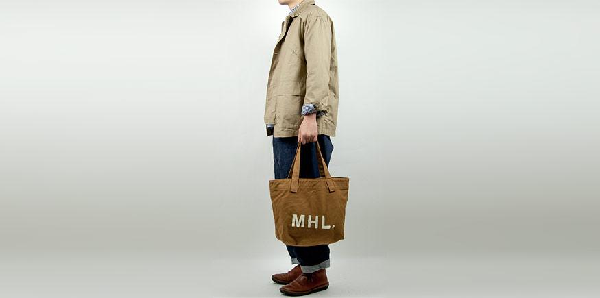 MHL. ロゴバッグ