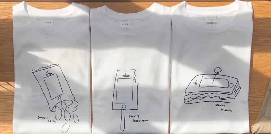 YAECA STOCK Tシャツ