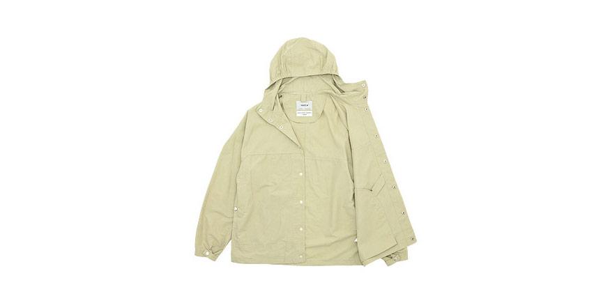 YAECA フードシャツ