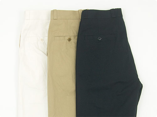 YAECA CHINO CLOTH PANTS カラー4色