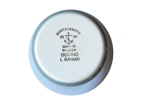 Gustavsberg DOMINO カップ グレー