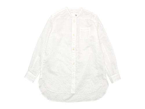 blanc no collar long shirts