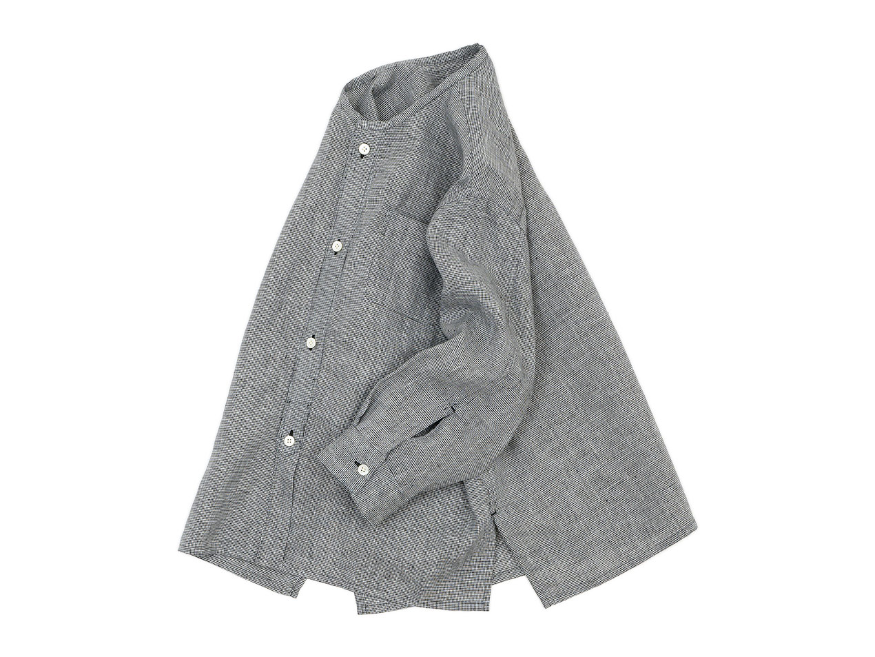 blanc no collar box shirts / smock dress