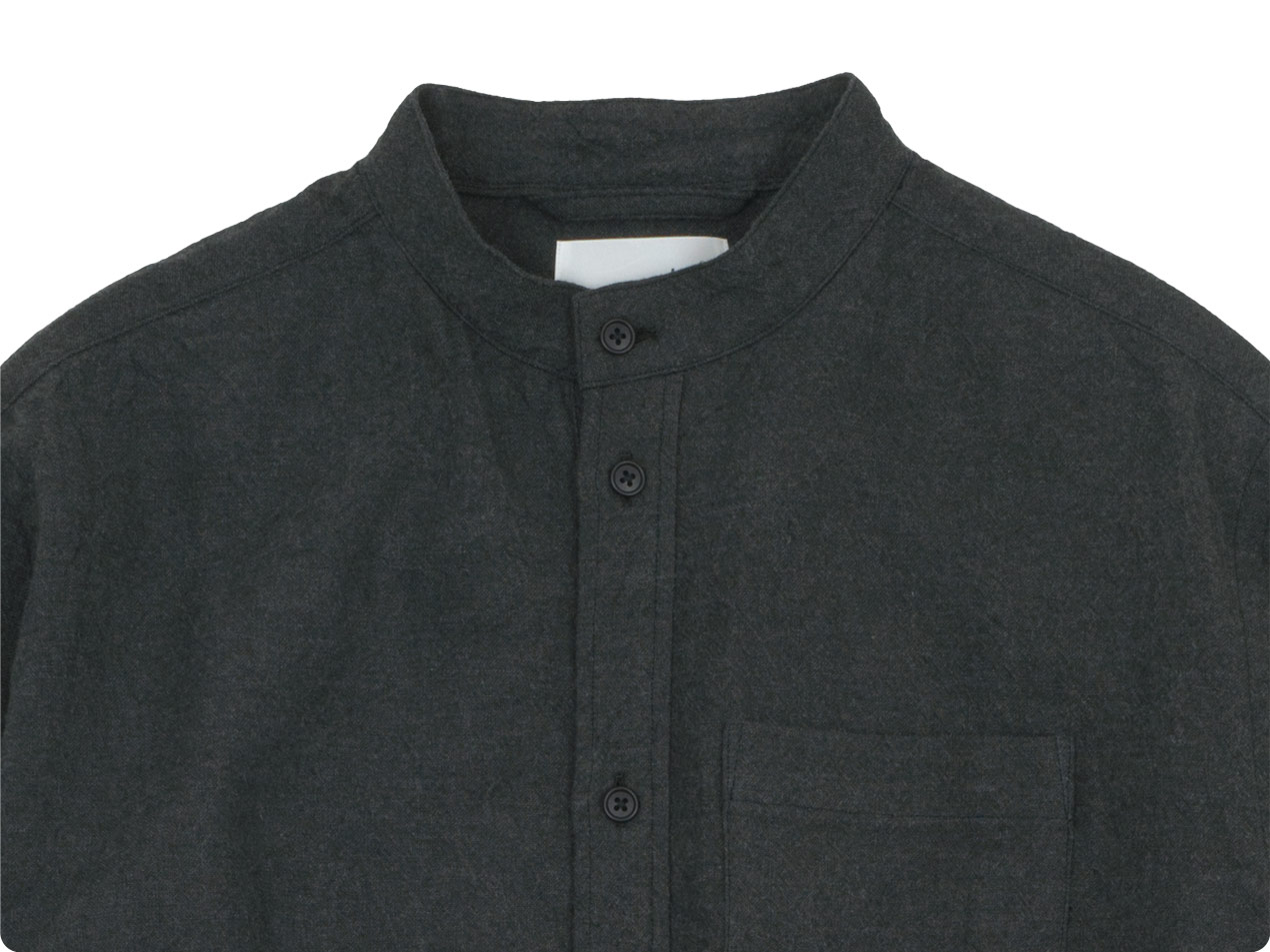 blanc housedress shirts linen wool