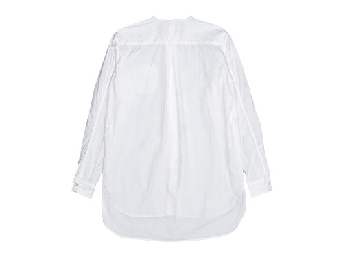 blanc no collar long shirts