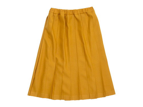 Charpentier de Vaisseau Belle Pleated Skirt Wool / Brisa Pleated Skirt Long Wool