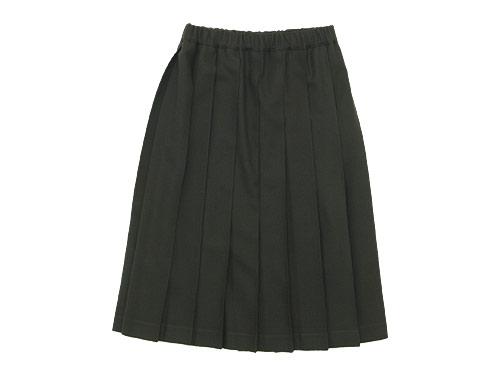 Charpentier de Vaisseau Pleated Skirt Wool / Long Wool