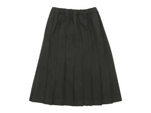 Charpentier de Vaisseau Pleated Skirt Wool