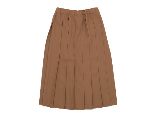 Charpentier de Vaisseau Pleated Skirt Long