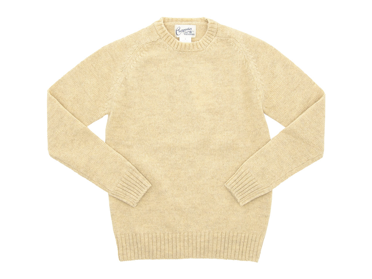 Charpentier de Vaisseau Shetland Crew Neck Knit / Turtle Neck Knit / Middle Stripe Long Sleeve Tee