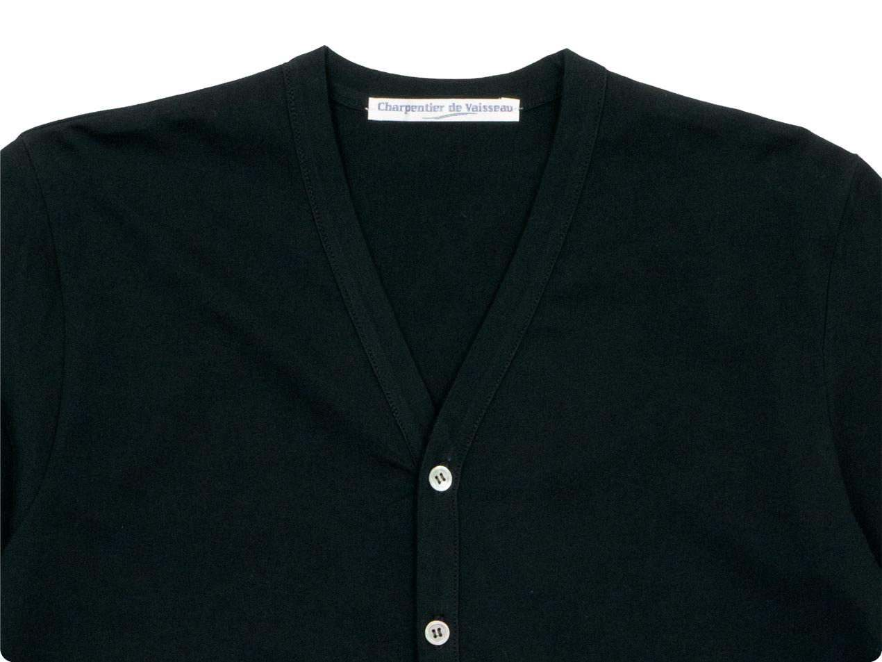 Charpentier de Vaisseau Jeannie V neck Cardigan