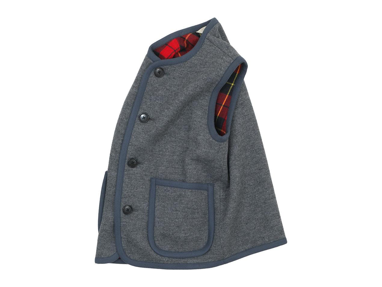 Charpentier de Vaisseau Tito Button Wool Vest