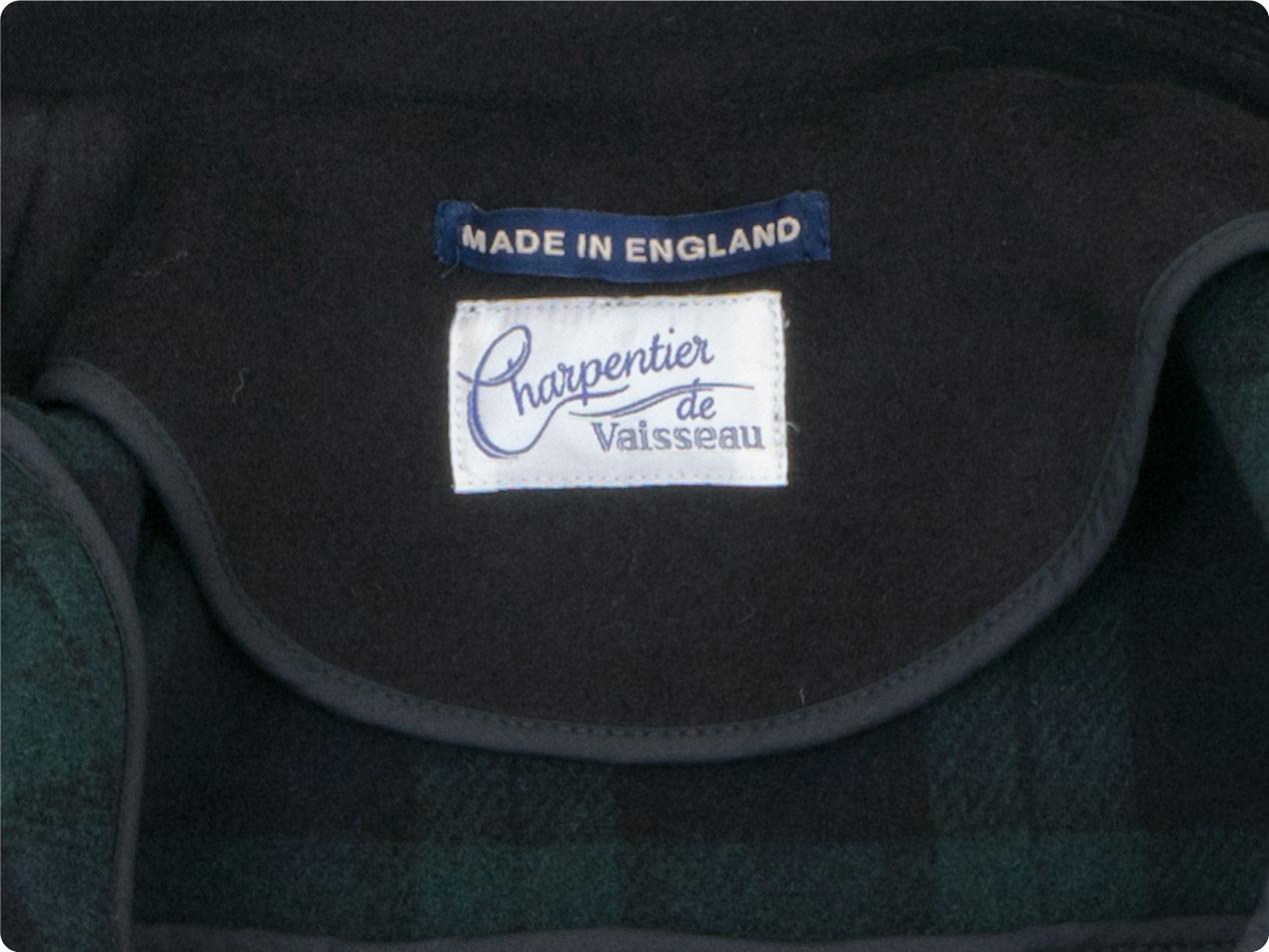 Charpentier de Vaisseau Tate London Tradition Duffle Coat Short